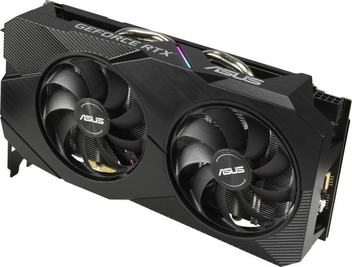 Bild von ASUS Dual GeForce RTX 2060 OC Evo, DUAL-RTX2060-O6G-EVO, 6GB GDDR6, DVI, 2x HDMI, DP (90YV0CH2-M0NA00)