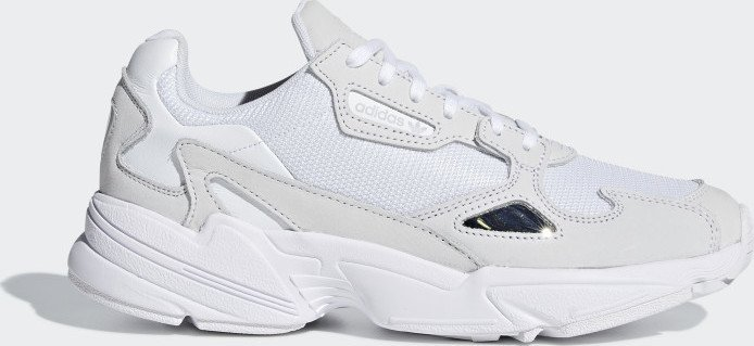 adidas Falcon ftwr white/crystal white (ladies) (B28128)