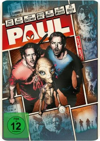 Paul - Ein Alien auf der Flucht - Steelbook (Blu-ray) -- via Amazon Partnerprogramm