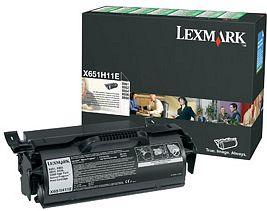 Lexmark Return Toner X651H11E schwarz hohe Kapazität