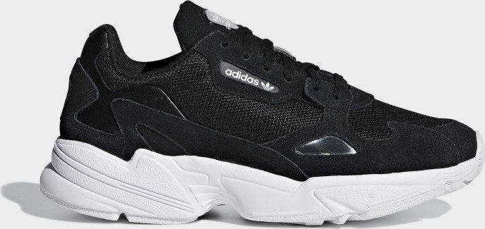 adidas Falcon core black/ftwr white (Damen) (B28129)