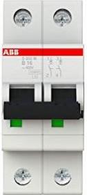 ABB Sicherungsautomat S200M, 2P, B, 16A (S202M-B16)
