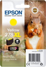 Epson ink 378 XL yellow (C13T37944010)