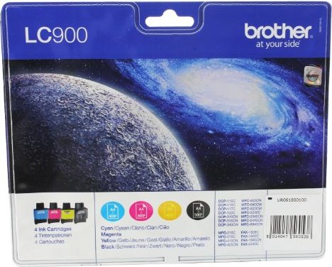 Brother LC900 Tinte Value Pack (LC900VALBP) -- via Amazon Partnerprogramm