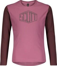 Scott Trail Dri Trikot langarm cassis pink/maroon red (Junior) (275366-6460)