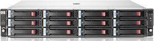 HP StorageWorks D2600, 2x Gb LAN, 2HE (AJ940A)