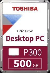 Toshiba P300 Desktop PC 500GB, SATA 6Gb/s, bulk (HDWD105UZSVA)