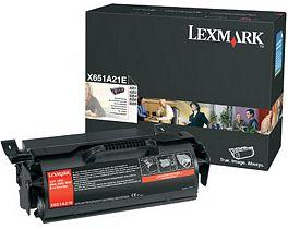 Lexmark Toner X651A21E schwarz