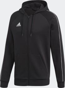 adidas Core 19 Hoodie Jacke schwarz/weiß (Herren) (FT8068)