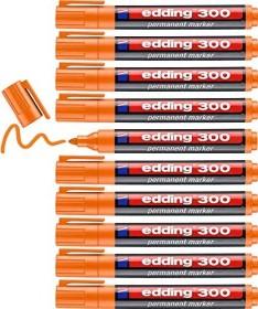 edding 300 Permanentmarker orange, 10er-Pack (4-300006#10)