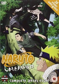 Naruto Unleashed Season 8 (DVD) (UK)