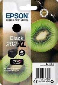 Epson Tinte 202XL schwarz (C13T02G14010)