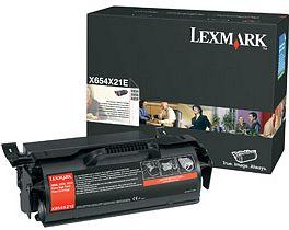 Lexmark Toner X654X21E schwarz hohe Kapazität