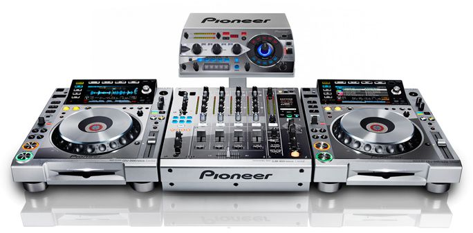 Pioneer Platinum Collection silver