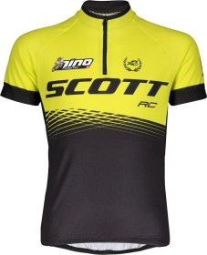 Scott RC Pro Trikot kurzarm black/sulphur yellow (Junior) (270573-5024)