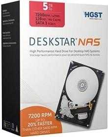 HGST Deskstar NAS 20TB Bundle, SATA 6Gb/s, 4x 5TB-Pack (H3IKNAS500012872SE4PK/0S03887)