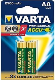 Varta Recharge Accu Power Mignon AA NiMH 2600mAh, 2-pack (05716-101-402)