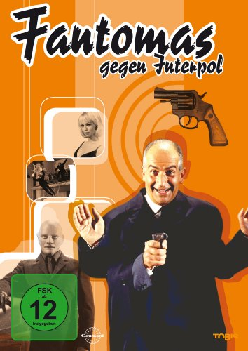 Fantomas gegen Interpol -- via Amazon Partnerprogramm