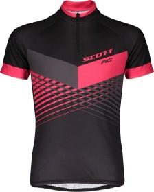 Scott RC Pro Trikot kurzarm black/azalea pink (Junior) (270573-5855)