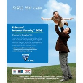 F-Secure Internet Security 2008, Update, 3 User (PC)