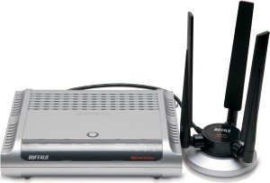 Buffalo wireless-N Nfiniti WZR-AG300NH