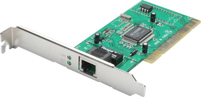 D-Link DFE-528TX, 1x 100Base-TX, PCI