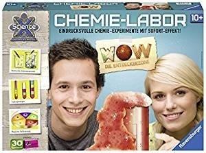 Ravensburger ScienceX Chemiebaukasten WOW Die Entdeckerzone (18937)