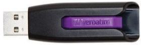 Verbatim Store 'n' Go V3 violett 16GB, USB-A 3.0 (49180)