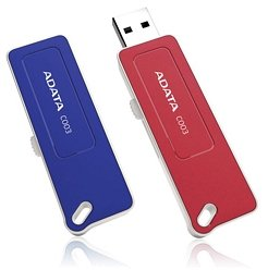 ADATA Classic Series C003 blau 4GB, USB-A 2.0 (AC003-4G-RBL)