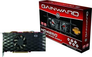 Gainward Radeon HD 4850 golden Sample, 512MB DDR3, 2x DVI, TV-out, PCIe 2.0 (9559)