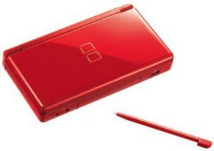 Nintendo DS Lite Basic unit, red, various Bundles