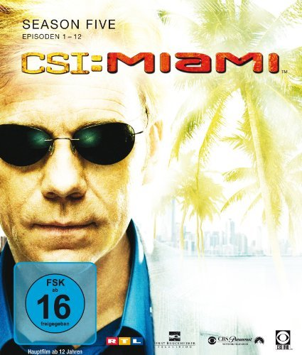 CSI Miami Season  5.1 (Blu-ray) -- via Amazon Partnerprogramm