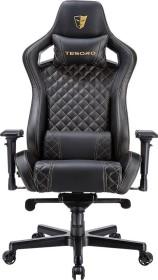 Tesoro Zone X F750 Bürostuhl, schwarz/gold (BK-GD)