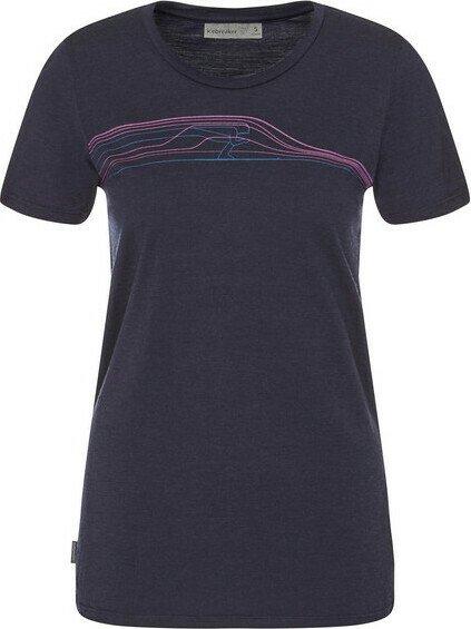 Icebreaker Tech Lite Snow Speedster Shirt kurzarm midnight navy (Damen) (104743 401) ab € 44,95