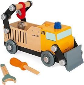 Janod Brico'kids wooden builder's truck (J06470)