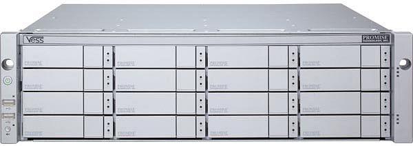 Promise Vess R2600xiS Single, 2x 10Gb SFP+, 3HE (F29R26X200M0000)