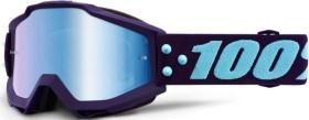 100% Accuri Schutzbrille maneuver/mirror blue lens (50210-345-02)