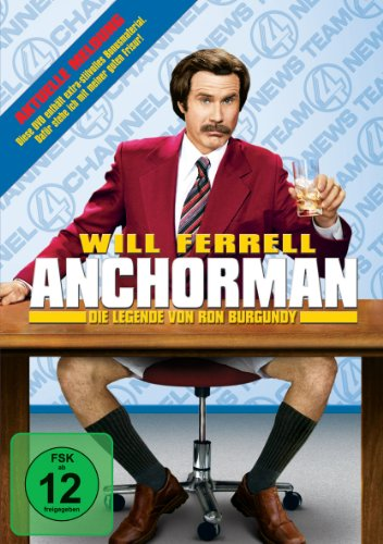 Anchorman - Legende von Ron Burgundy -- via Amazon Partnerprogramm