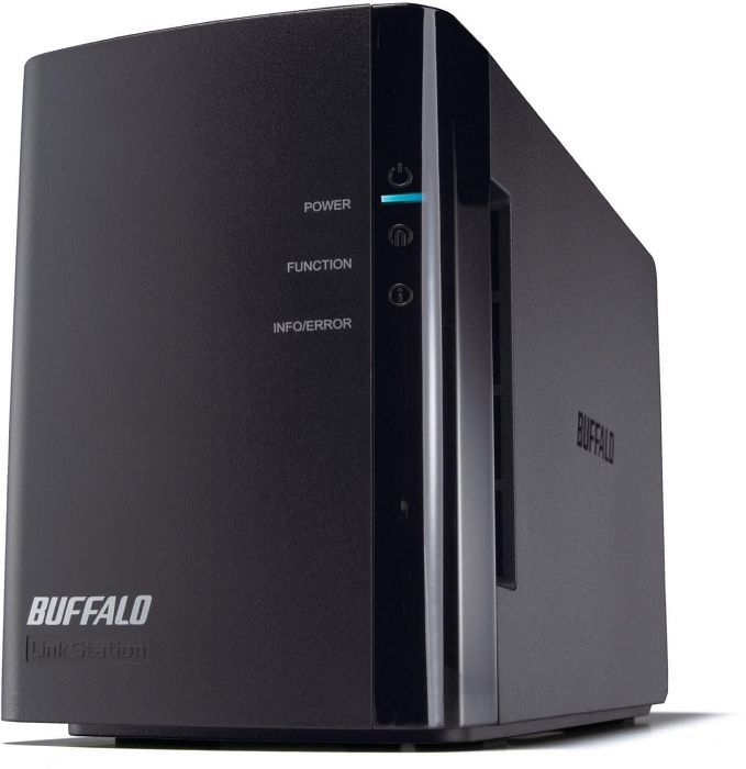 Buffalo lefttation Duo 1000GB, Gb LAN (LS-WX1.0TL/R1)