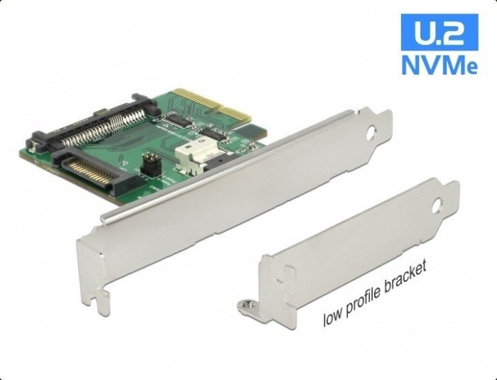 DeLOCK PCIe > SFF-8639 + SFF-8654 (89921)