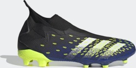 adidas Predator Freak.3 Laceless FG core black/cloud white/solar yellow (Herren) (FY0617)
