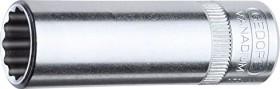"Gedore D 20 L 3/8AF zöllig Außenzwölfkant Stecknuss 1/4"" 3/8""x50mm (1965425)"