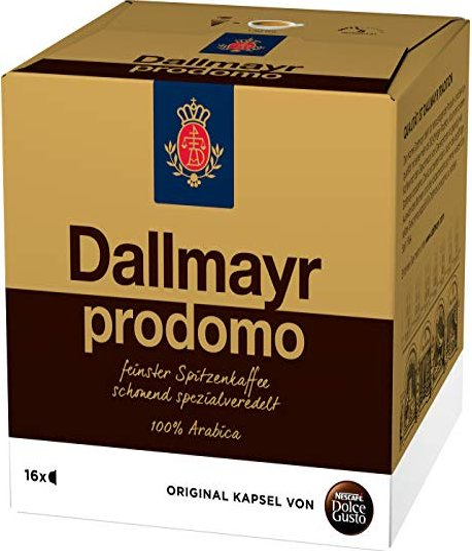 Nestlé Nescafe Dolce Gusto Dallmayr prodomo Kaffeekapseln, 16er-Pack -- via Amazon Partnerprogramm