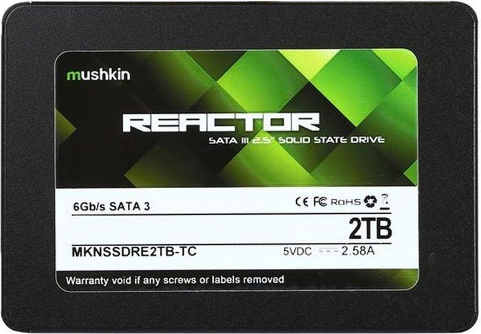 Mushkin Reactor TC 2TB, SATA (MKNSSDRE2TB-TC)