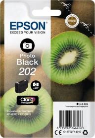 Epson Tinte 202 schwarz photo (C13T02F14010)