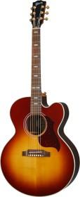 Gibson J-185 EC Modern Rosewood Rosewood Burst (MCJB85RWBB)