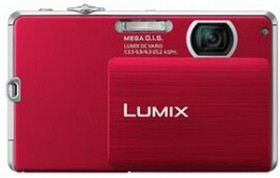 Panasonic Lumix DMC-FP2 red