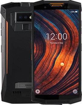 Doogee S80 schwarz/orange