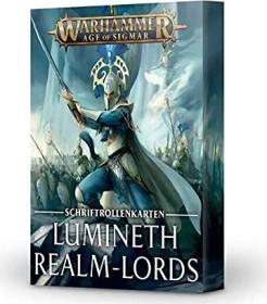 Games Workshop Warhammer Age of Sigmar - Warscrolls: Lumineth Realm-Lords 2021 (04050210002)