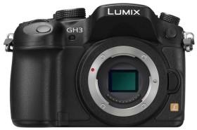 Panasonic Lumix DMC-GH3 schwarz Body